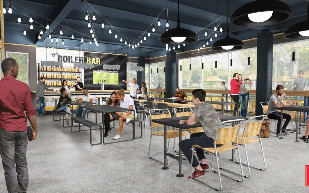 Crave Food Hall Purdue